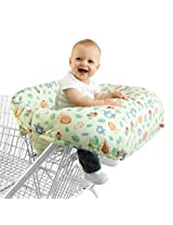 Bright Starts Cozy Cart Cover Animals, Green