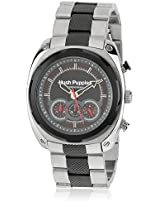 Hp.6047M.1517 Two Tone/Grey Chronograph Watch Hush Puppies