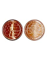 1 Constitutional Right To Bear Arms Design Copper Round New Design Copper Uncirculated