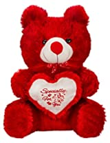 Valentines SHINY RED TEDDY by Glitters (23 inch)