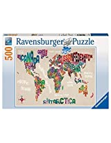 Ravensburger World In Words Puzzle (500 Piece) By Ravensburger
