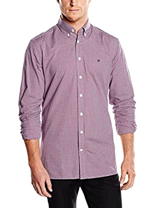Hackett London Camisa Hombre Check