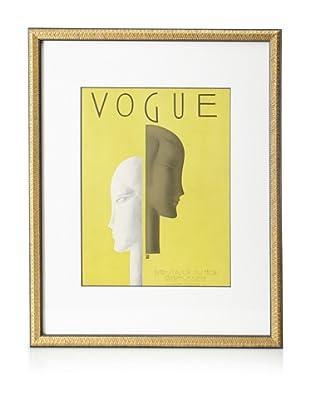 Original Vogue Cover from 1929 by Eduardo Benito