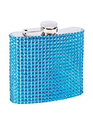 Crown Jewels Flask, Blue
