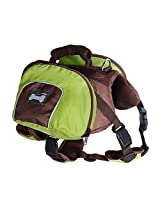 Imported Dog Foldable Backpack Waterproof Portable Travel Outdoor Bag Pack Green XL