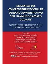 Memorias del Congreso Internacional de Derecho Administrativo