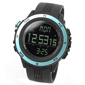 [ラドウェザー]腕時計 ドイツ製センサー 電子コンパス/高度/気圧