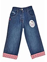 Hello Kitty Girls Capri - Blue (0 - 24 Months)