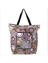 Ella Bags Funky Jungle Foldable Tote Bag (Multi-Coloured)