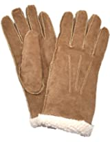 ISO by Isotoner Womens Suede Soft Warm MicroLuxe Lining (Med)