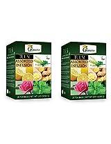 Tulsi Assorted Tea - 20 Tea bags - Pack of 2