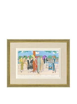Art Gout Beaute Fashion Illustration Rowing Race by Patou, Lanvin, Doeuillet