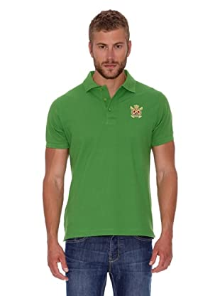Polo Club Polo Custom Fit Básico (Verde)