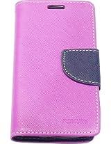 R safe Mercury flip cover for Samsung Galaxy Trend GT-S7392 (Purple)