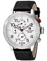 Tommy Hilfiger Men's 1791138 Cool Sport Analog Display Quartz Black Watch