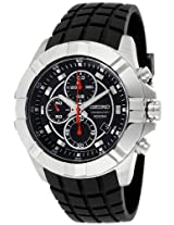 Seiko Chronograph Black Dial Men's Watch - SNDD73P2