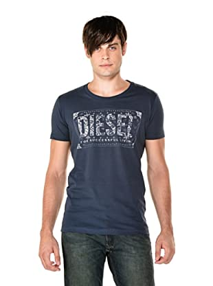 Diesel Camiseta Nuente (Azul)