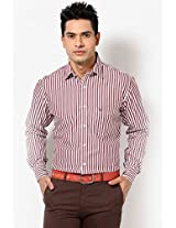 Brown Full Sleeve Casual Shirt Allen Solly