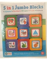 Ekta 5 in 1 Jumbo Blocks