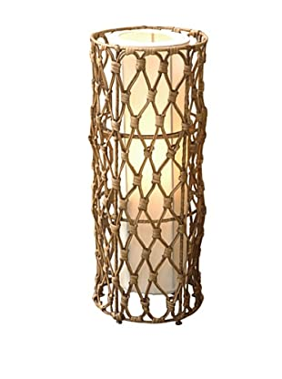 Jeffan Bethany Round Table Lamp, Natural