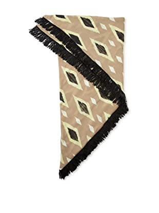 Moio Women's Thelma Cle Triangular Scarf (Olive)