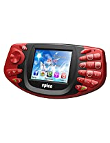 Spice Gaming Mobile X2-DUAL SIM/ANALOG TV/WIRELESS FM- RED