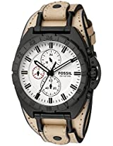Fossil Mens CH3005 Breaker Alt Analog Display Analog Quartz Brown Watch