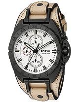 Fossil Mens CH3005 Breaker Alt Analog Display Analog Quartz Brown Watch