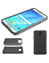DMG Hybrid Dual Layer Armor Defender Protective Case Cover for Samsung Galaxy Note 5 N920 (Black)