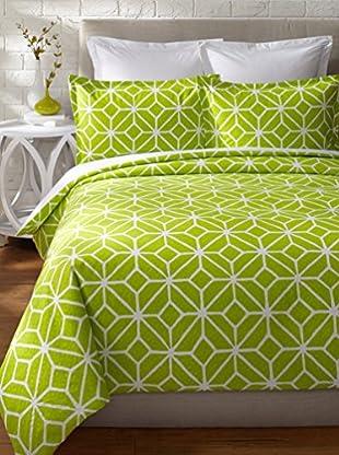 Trina Turk Trellis Duvet Set (Green)