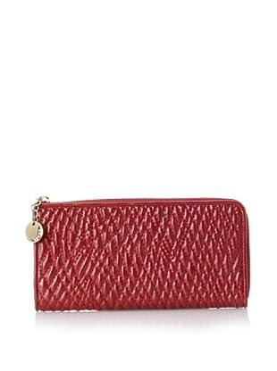 Ivanka Trump Women's Ivanka Zip-Around Wallet (Rouge)