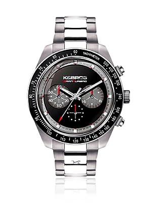 K&BROS Reloj 9481 (Negro Gris)