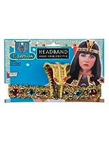 Egyptian Jewelled Snake Cleopatra Headband Costume Accessory