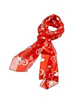 Purple Box Jewelry Valentine's Day Heart Scarf or Mothers Day Scarf (Clover Red)