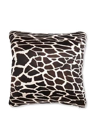 Roberto Cavalli Casa Giraffe Pillow (Black)