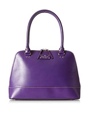 Kate Spade Women's Rachelle Wellesley Satchel, Plumberry