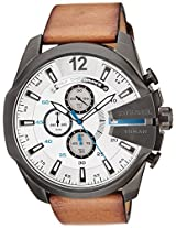 Diesel Stopwatch Chronograph White Dial Men's Watch - DZ4280I