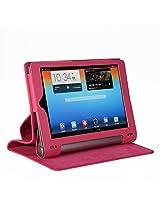 "ProElite(TM) Flip case cover for Lenovo Yoga 2 Tablet 1050L 10"" Tab Tablet (Pink) (Magnetic Closure) (Auto Sleep/Wake)"
