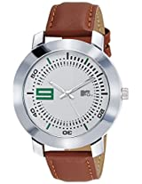 MTV Analog White Dial Men's Watch - M-3012
