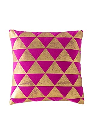 Shiraleah Caravan Square Pillow, Pink