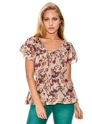 Springfield Blusa Estampado Floral (marfil)