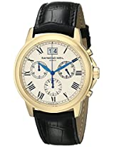 Raymond Weil Men's 4476-PC-00800 Tradition Analog Display Swiss Quartz Black Watch