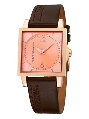 Adolfo Dominguez Watches 69189 - Reloj de Señora cuarzo correa piel Marrón