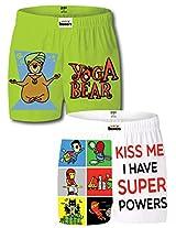 Gabi Men's Cotton Boxer Shorts (Pack Of 2) (YOGASUPERBSCML_Multi-Coloured_Large)