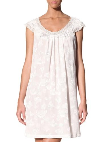 Oscar de la Renta Women's Seaside Mornings Gown (Pearl)