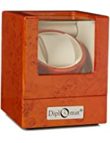 Diplomat 31-406 Burl Wood Single Watch Winder