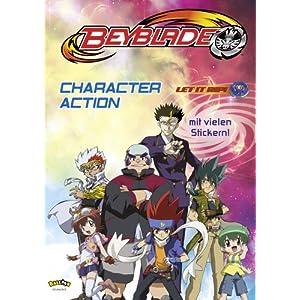 【クリックでお店のこの商品のページへ】Beyblade. Character Action mit Stickern: 洋書