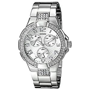 GUESS Analog Silver Dial Women's Watch - G12557L