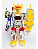 AndAlso Walking Warrior Robot with LED Lights and Sound Toyn