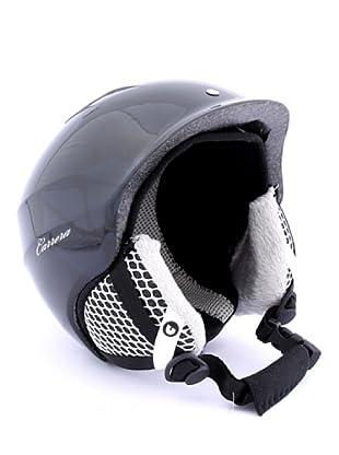 Carrera Casco de Esquí CA E00392 C-LADY BLACK SHINY (negro)